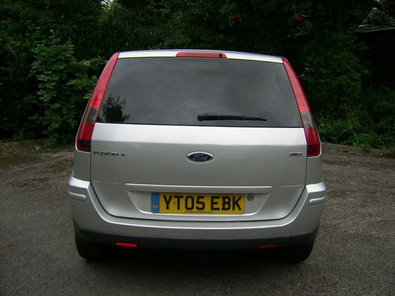 2005 Ford Fusion 1.4 TD + 5dr image 4