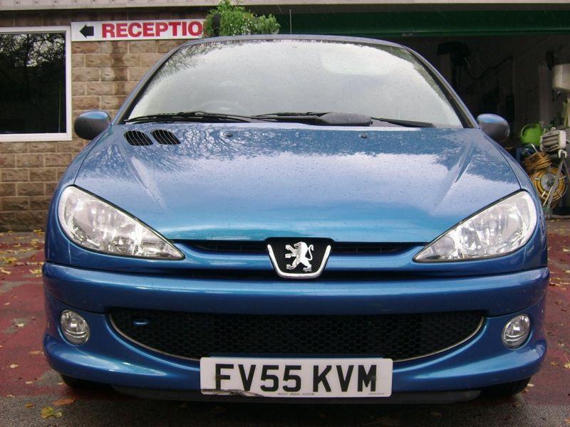 2005 Peugeot 206 1.1 8v Sport 3 image 2