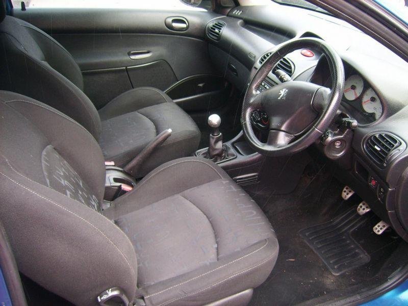 2005 Peugeot 206 1.1 8v Sport 3 image 5