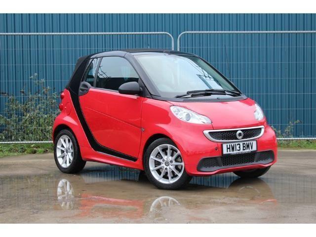 2013 Smart ForTwo Cabrio 1.0 image 1