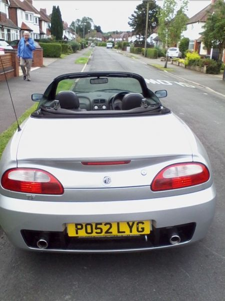 2002 MG TF 135 image 4