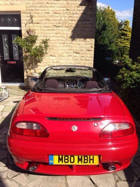 2001 MG TF Convertible image 4