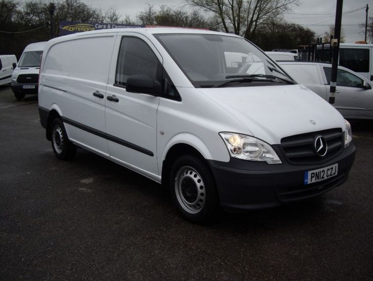 2012 Mercedes-Benz Vito 113 Cdi image 1