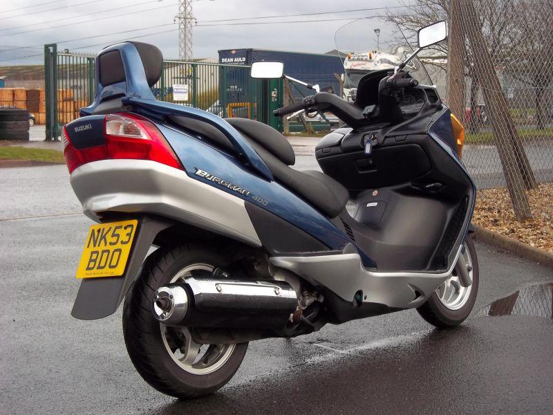 2003 Suzuki AN400 Burgman K-2 image 6