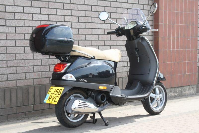 2006 Piaggio Vespa LX50 image 7