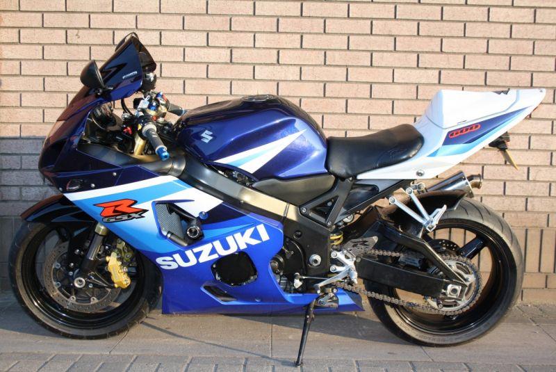 2005 Suzuki GSXR 600 K4 image 3