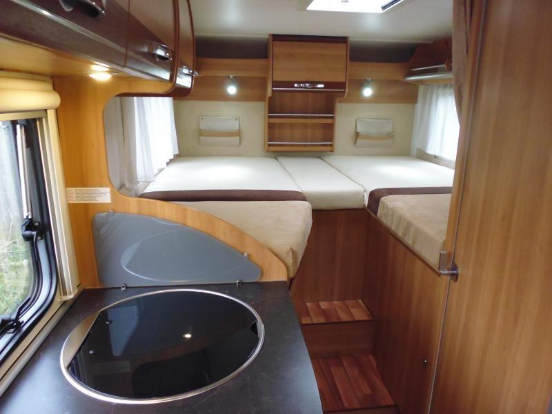 2010 Ford Transit Hymer Eriba Van 562 Silverline image 6