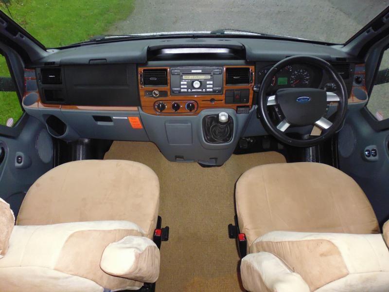 2010 Ford Transit Hymer Eriba Van 562 Silverline image 9