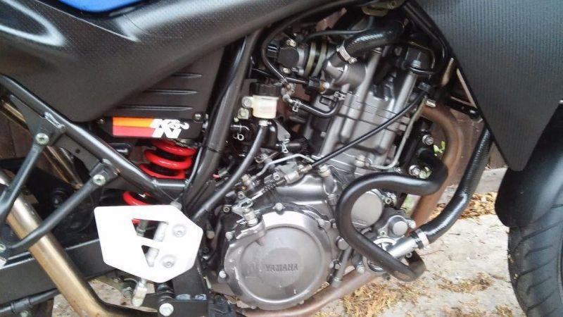 2005 Yamaha XT660X Supermoto image 3