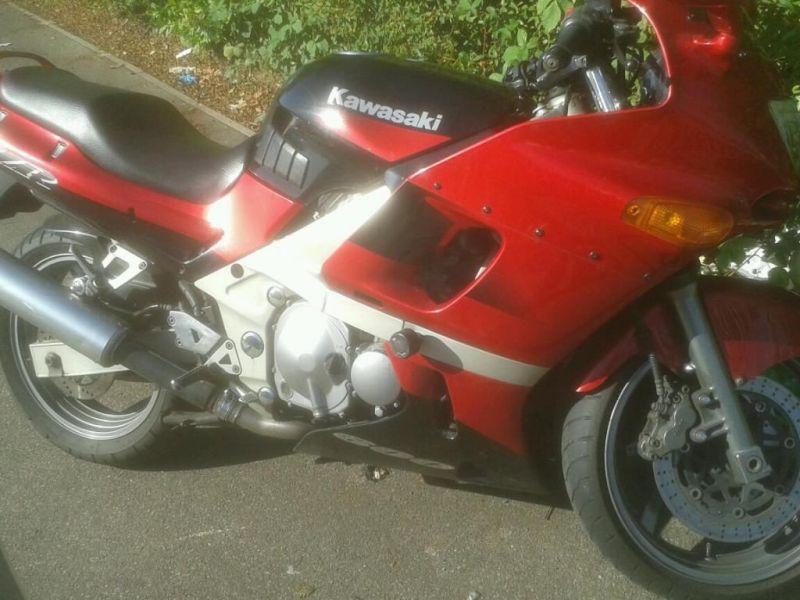 1999 Kawasaki zzr600 image 1