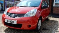 2010 Nissan Note 1.4 Visia 5dr