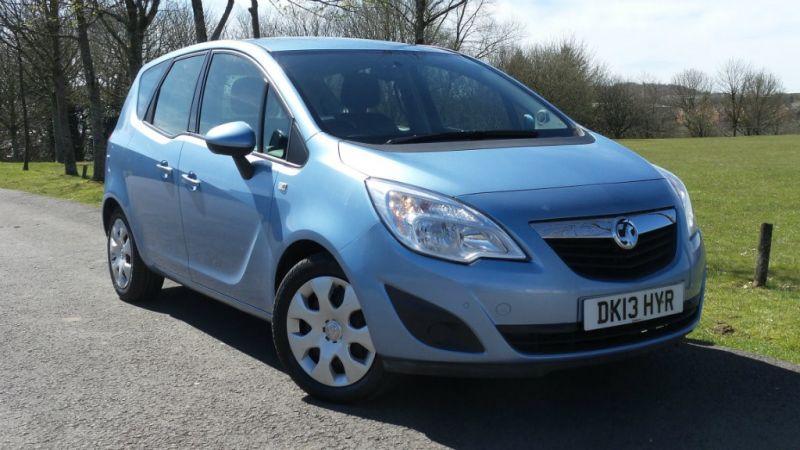 2013 Vauxhall Meriva CDTi 16v 5dr image 1