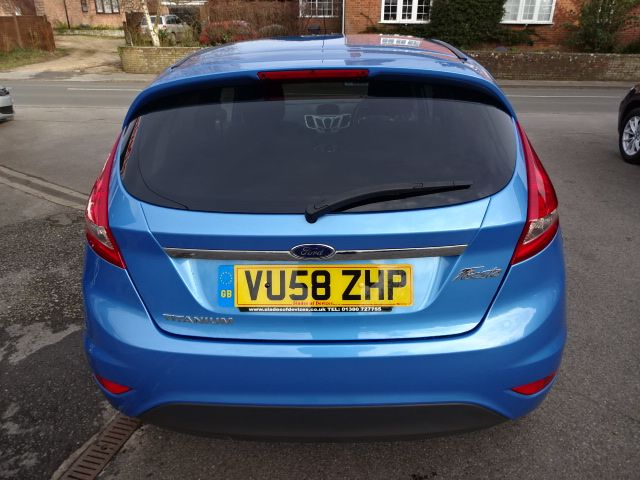 2008 Ford Fiesta 1.4 image 5