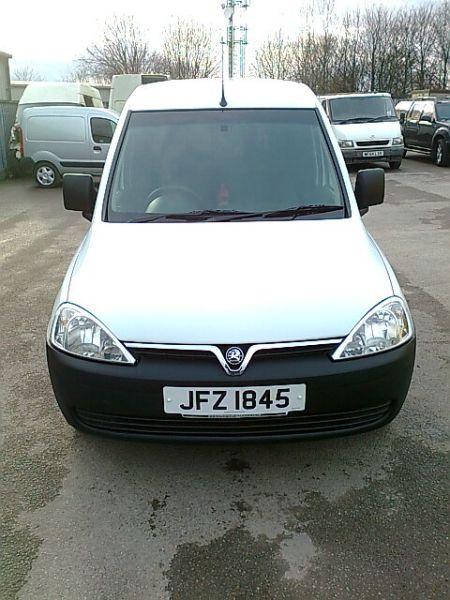 2012 Vauxhall Combo Van 1.7 Cdti image 3
