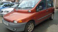 2001 Fiat Multipla 1.6 16V ELX 5d