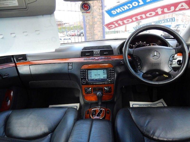 2004 Mercedes S Class S320 CDI image 7