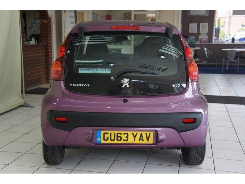 2013 Peugeot 107 Active 5dr image 4