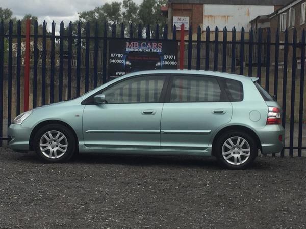 2004 Honda Civic 1.6 i VTEC SE 5dr image 3