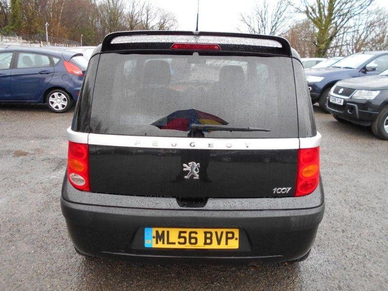 2006 Peugeot 1007 1.4 Dolce 8V image 4