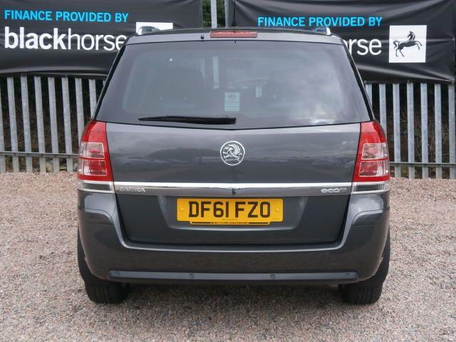 2012 Vauxhall Zafira 1.7 CDTi ecoFLEX 16v 5dr image 5