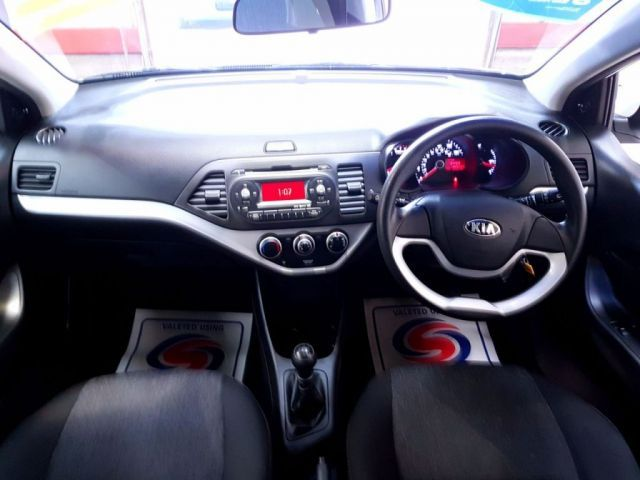 2012 Kia Picanto 1.0 1 5d image 7