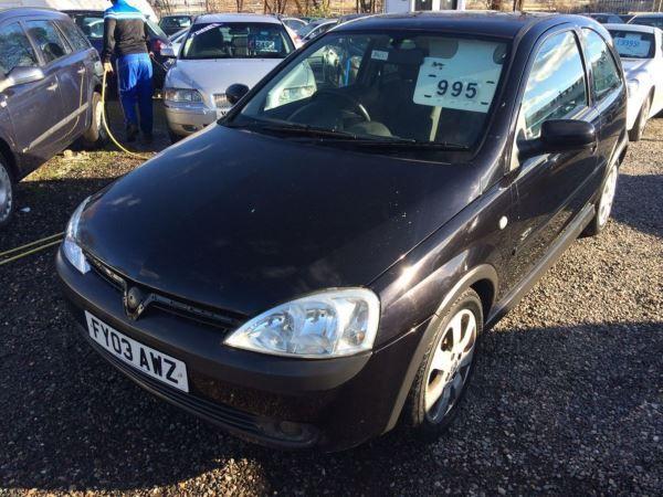 2003 Vauxhall Corsa 1.2i 16V SXi image 1