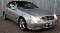 2003 Mercedes CLK240 Avantgarde
