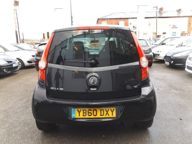 2011 Vauxhall Agila 1.2 SE 5d image 4