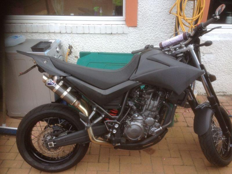 2008 Yamaha xt660x image 1