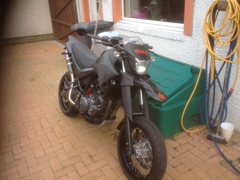 2008 Yamaha xt660x image 2