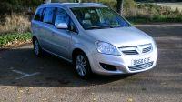 2010 Vauxhall Zafira Design 1.8 16v