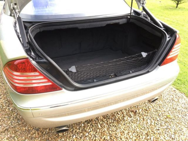 2004 Mercedes-Benz CL 5.0 CL 500 image 4