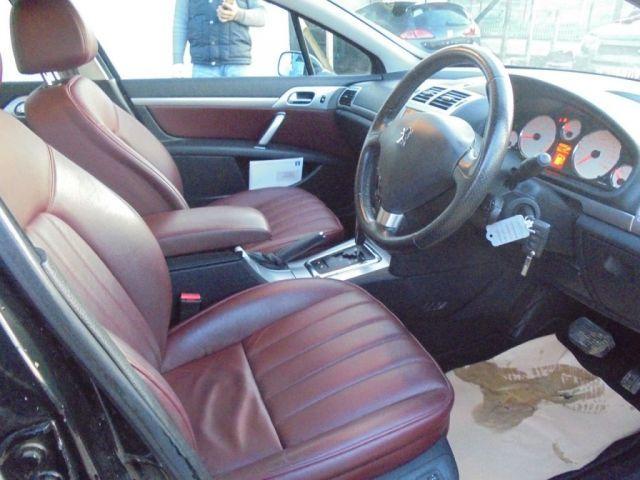 2008 Peugeot 407 2.7 GT HDI 4d image 8