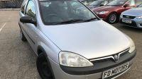 2002 Vauxhall Corsa 1.2 3dr