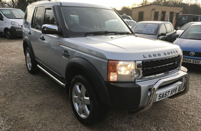 2007 Land Rover Discovery 3 2.7 TD V6 GS image 3
