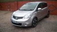2013 Nissan Note 1.5 [90] dCi N-Tec+ 5dr