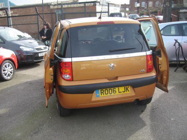 2006 Peugeot 1007 1.4 3dr image 5