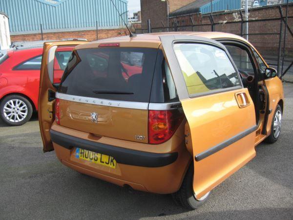 2006 Peugeot 1007 1.4 3dr image 6