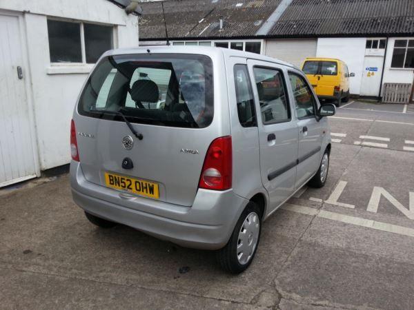 2002 Vauxhall Agila 1.0i 12V image 5