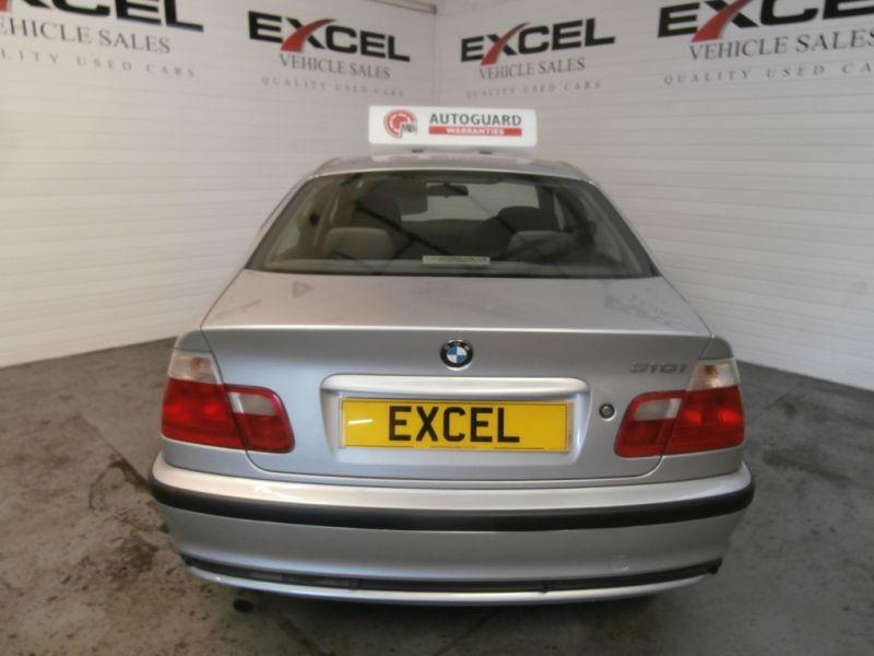2001 BMW 1.9 316I SE 4dr image 3