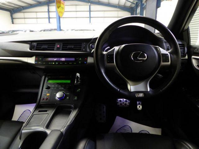 2013 Lexus CT 200H 1.8 5dr image 7