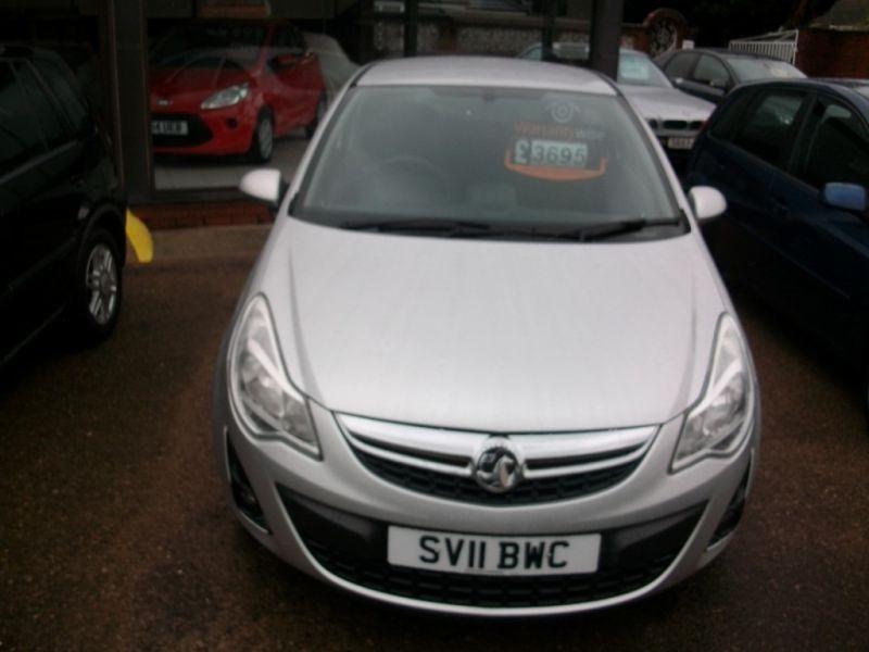 2011 Vauxhall Corsa 1.2 3dr image 2