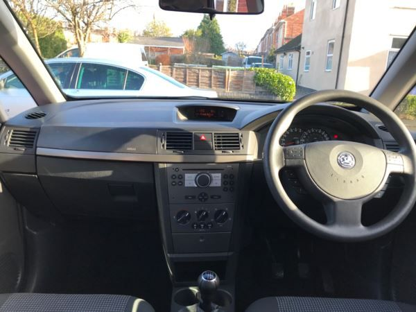 2009 Vauxhall Meriva 1.6i 16V 5dr image 10