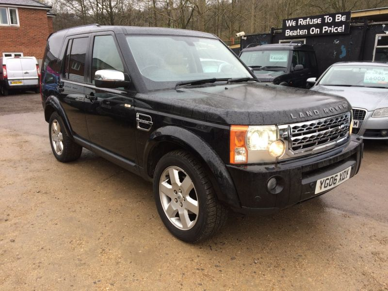 2006 Land Rover Discovery 3 TDV6 HSE image 2