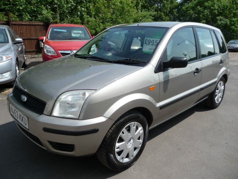 2004 Ford Fusion 1.4 2 5dr image 3