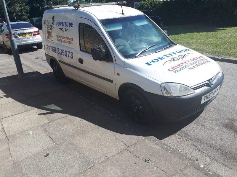 2003 Vauxhall Combo 1.7 image 1