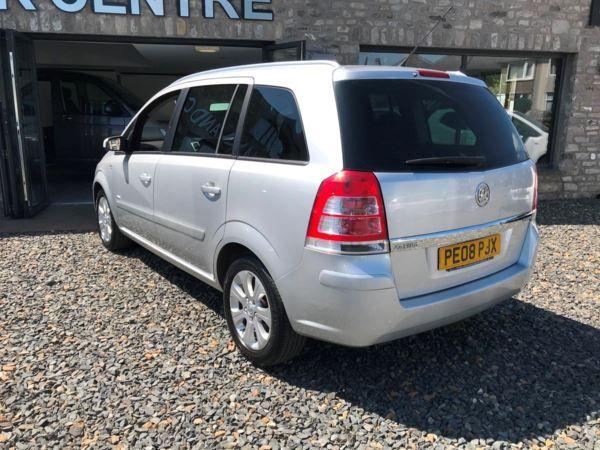 2008 Vauxhall Zafira 1.9 CDTI image 8