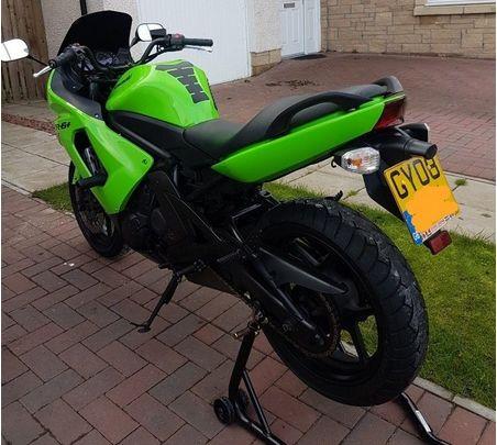 Kawasaki ER6F 650 A8F image 5