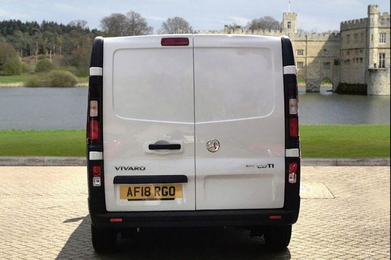 2018 Vauxhall Vivaro 1.6L L1H1 2700 CDTI image 5