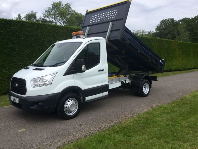 2016 Ford Transit T350 Tdci 125Ps Tipper image 1